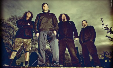 napalm death - band - 2012