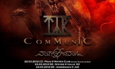 rage + tyr + communic - metal firestorm tour 2012