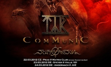 rage + tyr + communic - metal firestorm tour 2012
