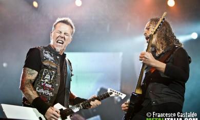 Metallica - Udine - 13 maggio 2012