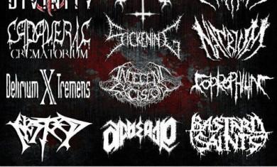 Tattoo Death Fest - Locandina - 2012