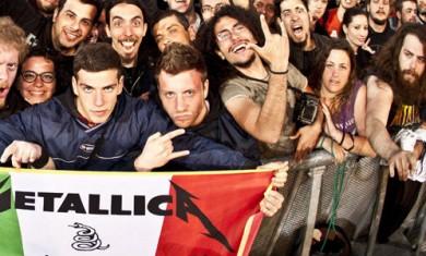 metallica - prima pagina udine - 2012