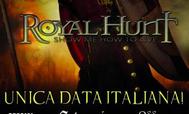 royal hunt - romagnano sesia 25 maggio 2012