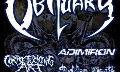 obituary - live roma - 2012