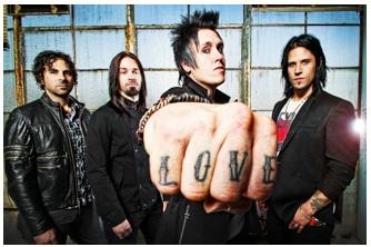 papa roach - band - 2012