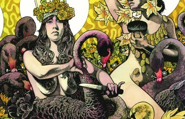 baroness - yellow & green - 2012