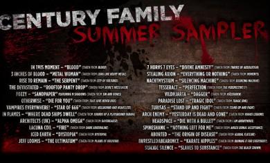 century media family summer sampler - 2012