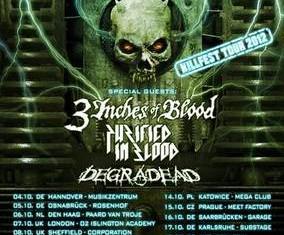 overkill - killfest tour 2012