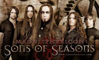 sons of seasons - band - 2012