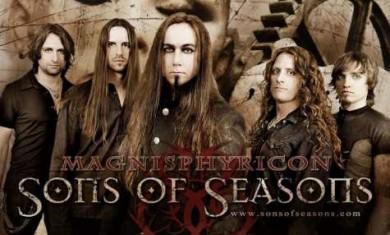 sons of seasons - band - 2012