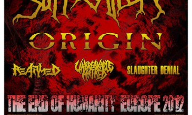 suffocation origin tour 2012
