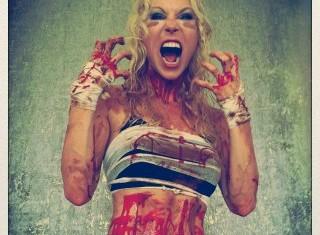 Arch Enemy - Angela Gossow - 2012