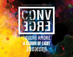 converge, the secret - euro tour - 2012