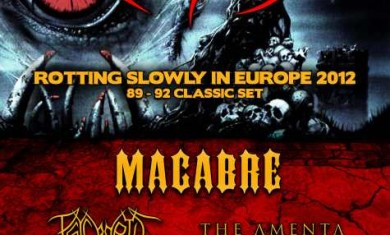 obituary - euro tour - 2012