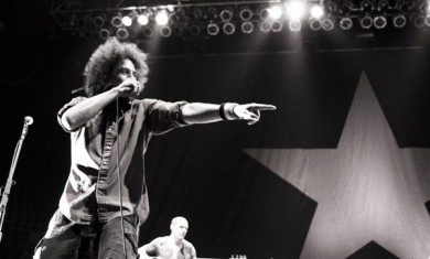 rage against the machine - live photo - 2012