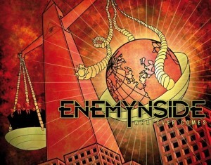 ENEMYNSIDE - Whatever Comes - Cover - 2012