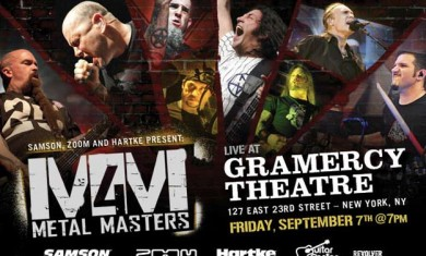 Metal Masters 4 - locandina - 2012