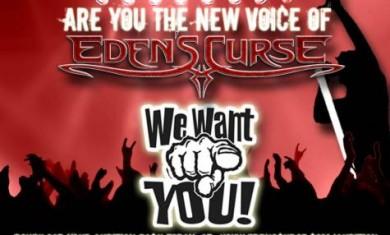 eden's curse vocalist search