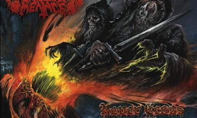 hooded menace - never cross the dead - 2010
