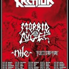 Kreator + Morbid Angel + Nile + Fueled By Fire