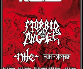 kreator morbid angel nile - tour - 2012