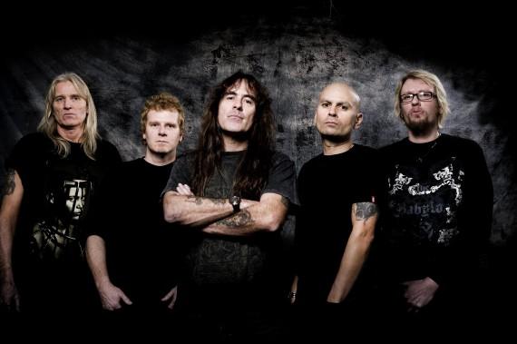 steve harris - band - 2012