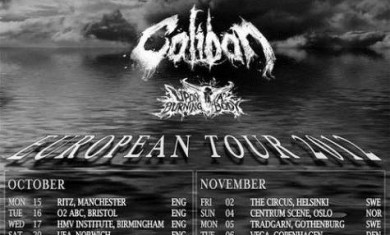 trivium - as i lay dying - caliban - tour - 2012