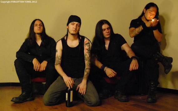 forgotten tomb - band - 2012