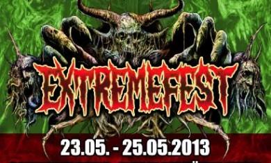 Extremefest 2013 - Locandina