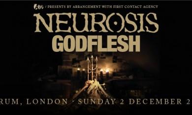 Neurosis - Locandina Londra - 2012