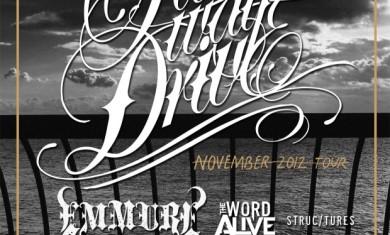 Parkway Drive, Emmure - tour novembre - 2012