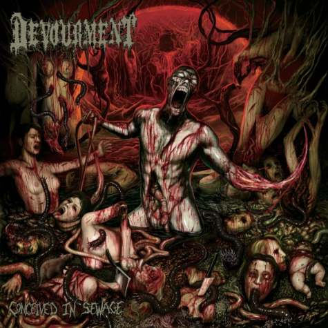 devourment - conceived in sewage - 2013