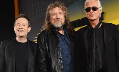 led zeppelin - band - 2012