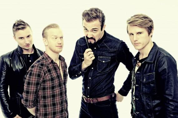 royal republic - band - 2013