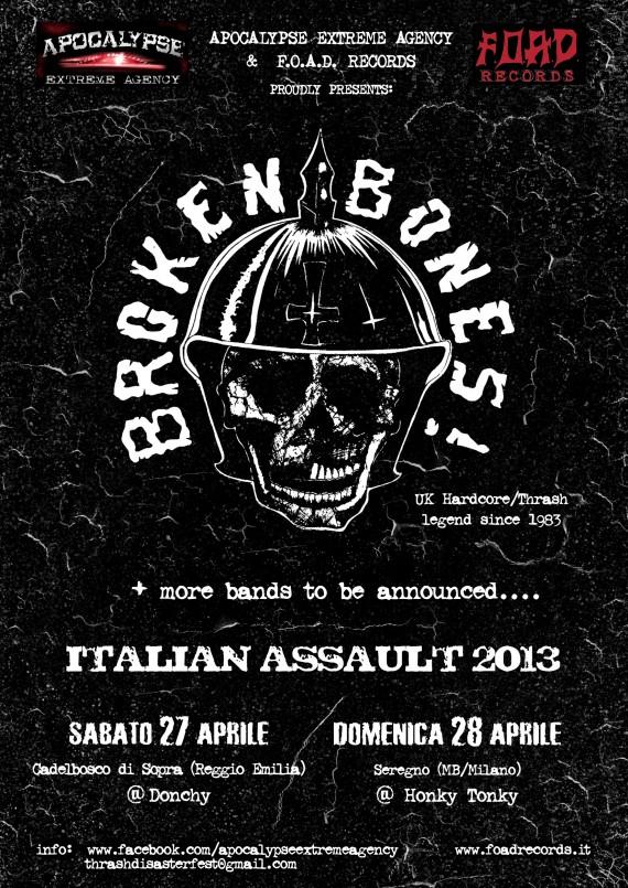 Broken Bones - locandina aprile - 2013
