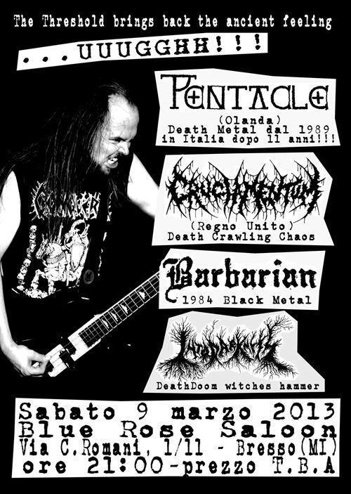Cruciamentum - flyer - 2013