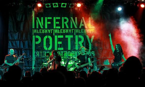 Infernal Poetry - intervista live - 2013