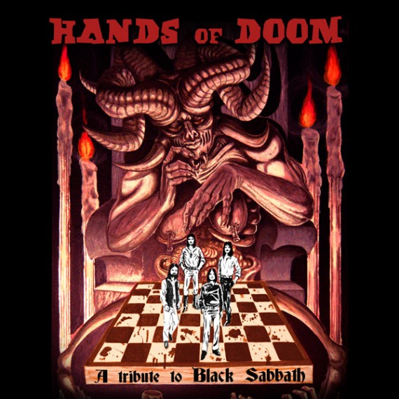 black sabbath - copertina tributo hands of doom - 2013