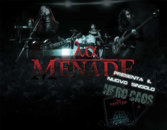 la menade - promo nero caos - 2013