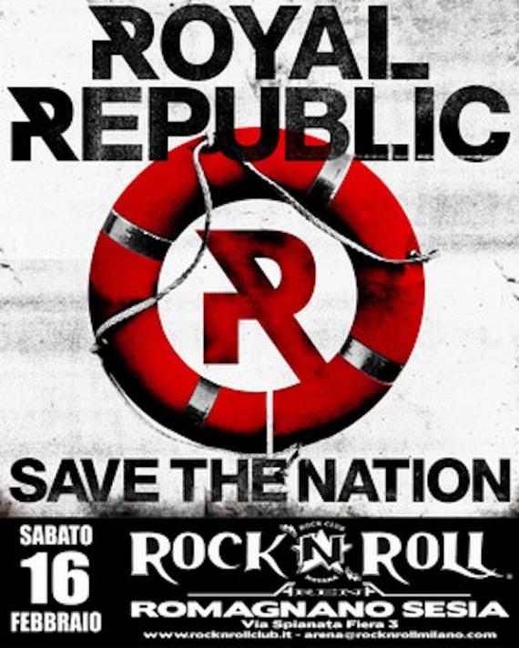 royal republic - locandina - 2013