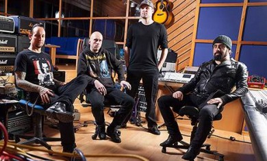 volbeat - in studio con rob caggiano - 2013