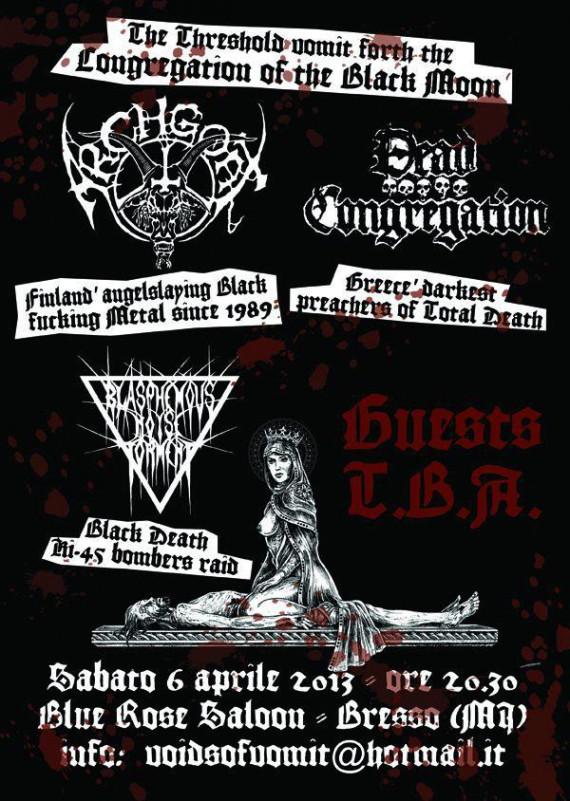 Archgoat - flyer - 2013