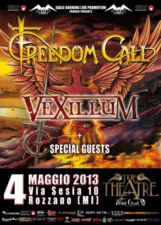 Freedom Call - milano - 2013