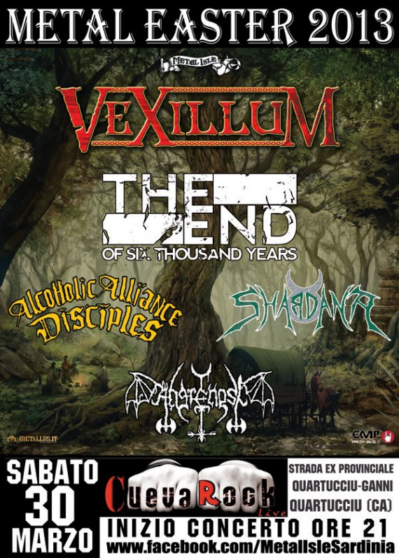 Metal Easter  - locandina - 2013