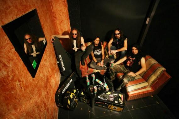 Necrodeath - band - 2013