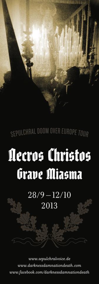 Sepulchral Doom Over Europe - Flyer - 2013