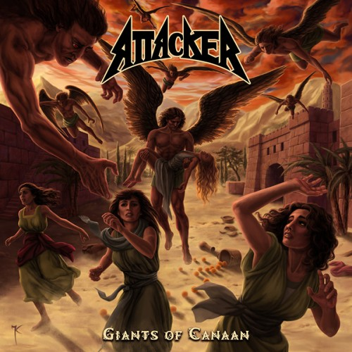 attacker - Giants Of Canaan - 2013