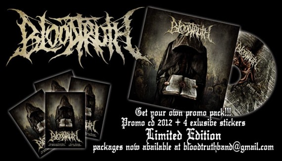 bloodtruth - promo pack - 2013