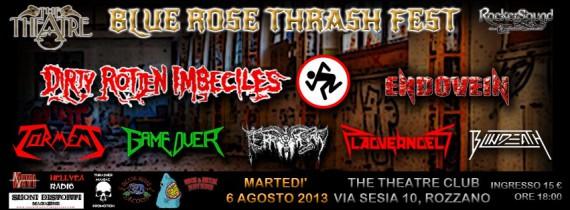 blue rose thrash fest - 2013