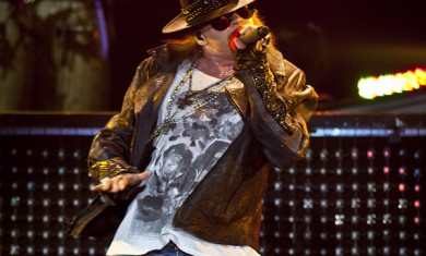 Axl Rose - live Gods of Metal 2012